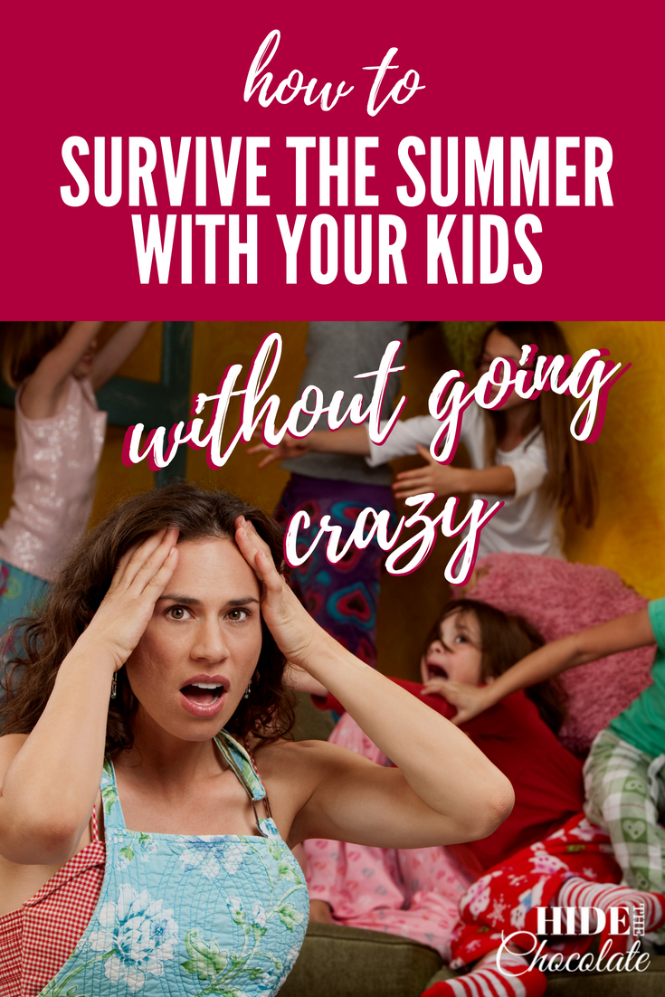 How to survive the summer with your kids without going crazy
