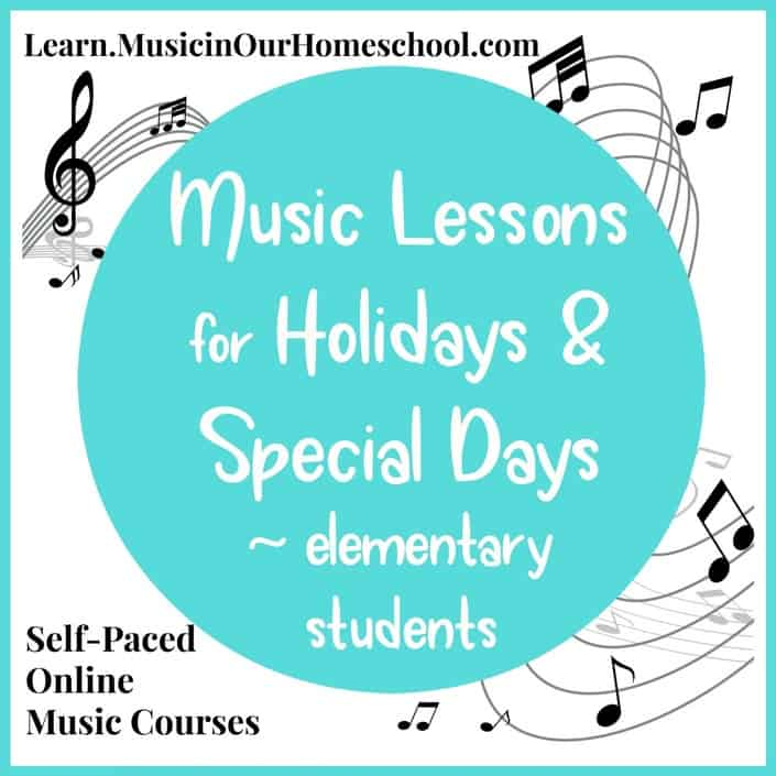 Music Lessons for Holidays & Special Days square
