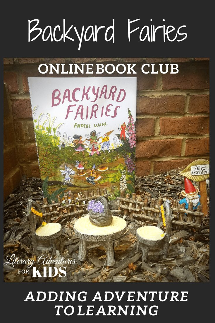 In the nature mini-course, Backyard Fairies Online Book Club for Kids, we will read the book by Phoebe Wahl. We\'ll go on rabbit trails of discovery about fairies, toadstools, moss; learn by experiencing parts of the book through arts and crafts; add a little nature study magic dust and go on outdoor adventures into nature. At the conclusion of the story, we will have a \