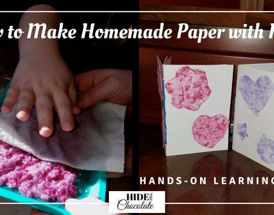How to Make Homemade Paper with Kids