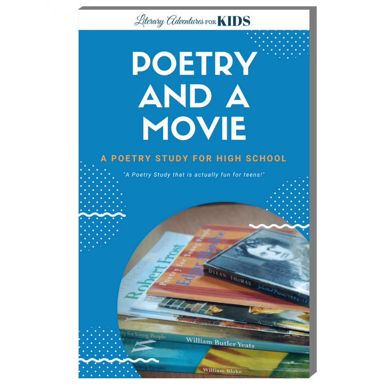 Poetry Study for High School-Poetry and a Movie Book Cover 3D