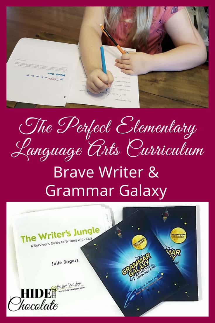 Over the years I have tried SO MANY different resources for our curriculum. Some worked, and some didn't make the cut. So, you can imagine my glee when I discovered how to create the perfect elementary language arts curriculum with Brave Writer and Grammar Galaxy. #homeschooling