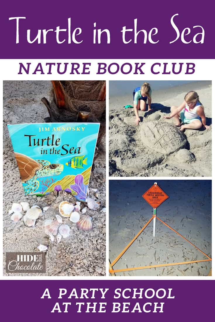 Baby turtles, starfish, crabs, crabs, and more crabs. We enjoyed fun on the beach at our latest party school, Turtle in the Sea Nature Book Club.