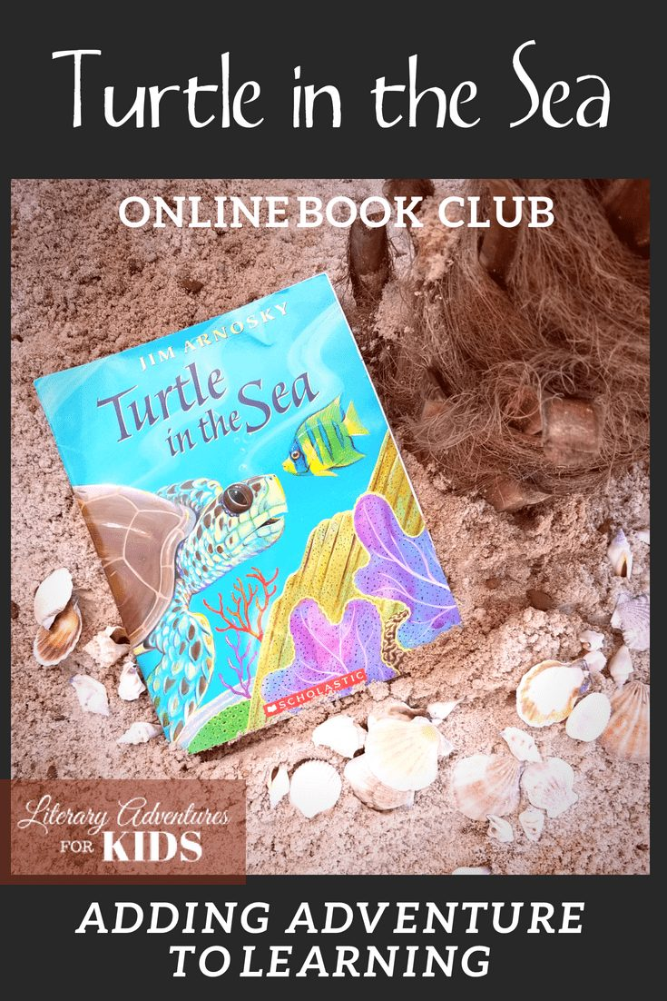 In the nature mini-course, Turtle in the Sea Online Book Club for Kids, we will read the book; go on rabbit trails of discovery about sea turtles, sharks, waterspouts; find ways to learn by experiencing parts of the book through arts and crafts; and go on outdoor adventures into nature. At the conclusion of the story, we will have a \
