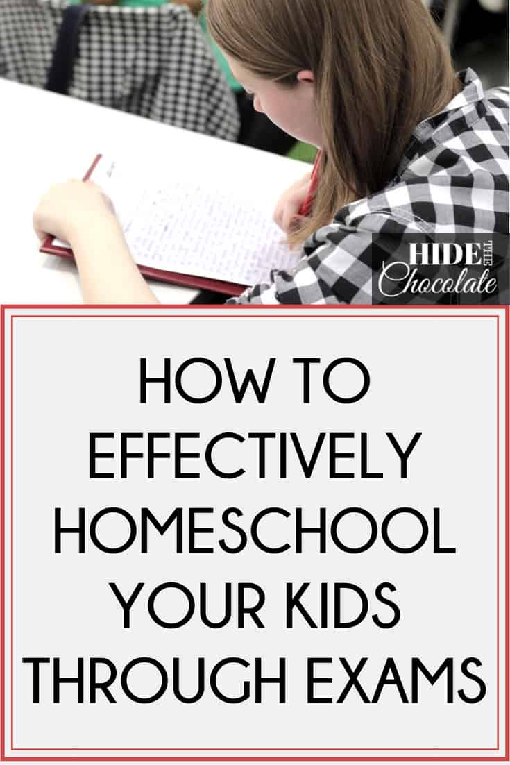 How To Effectively Homeschool Your Kids Through Exams