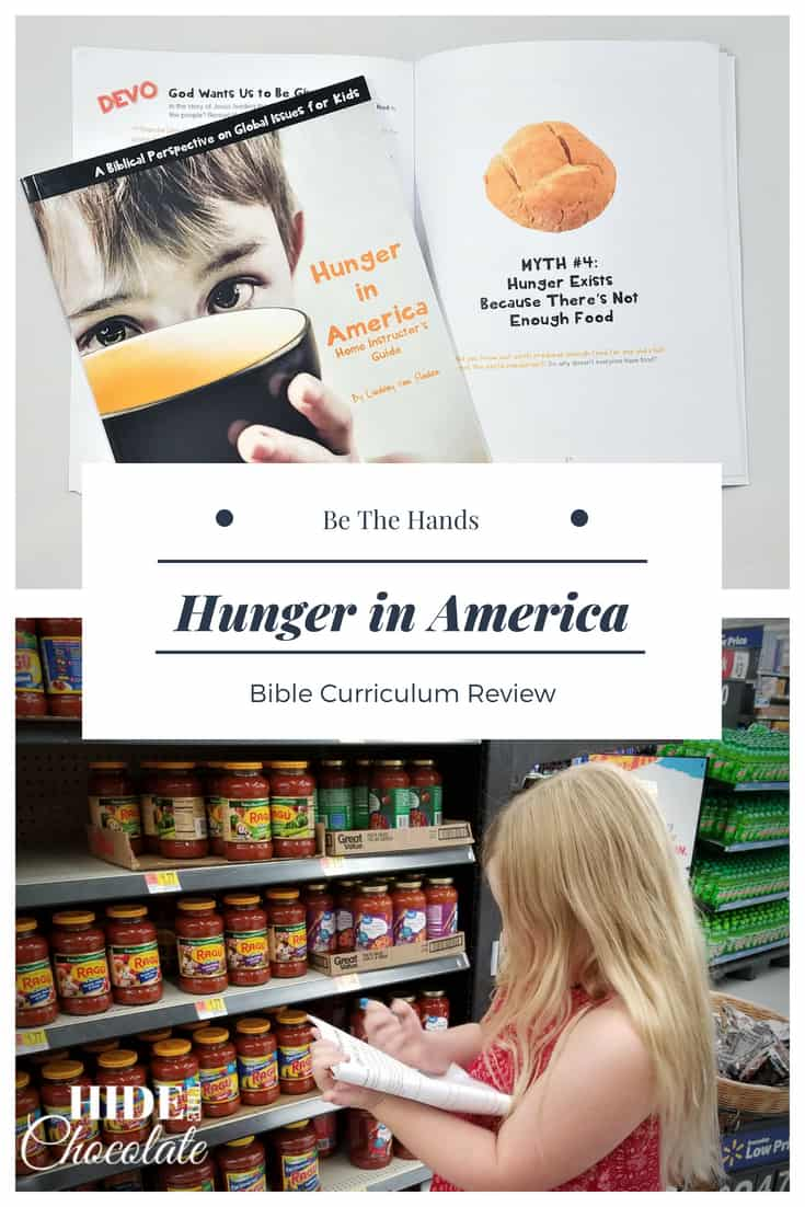 Hunger in America Bible Curriculum Review