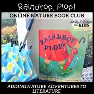 Raindrop Plop Online Nature Book Club