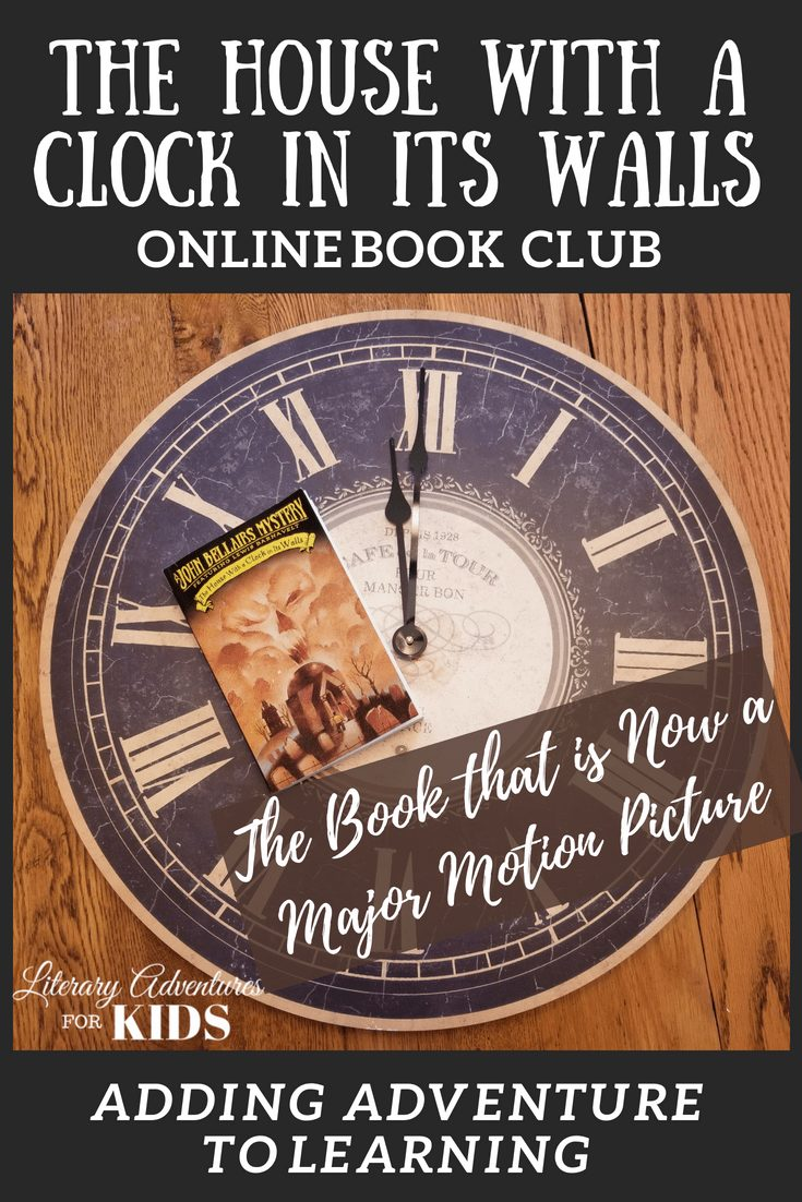 In this course, The House with a Clock in Its Walls Online Book Club for Kids, we will read through the book by John Bellairs. As we are reading, we will go on rabbit trails of discovery, experience parts of the book through hands-on activities and have a party school to celebrate the magic of the house. #onlinebookclub #homeschool #la4k