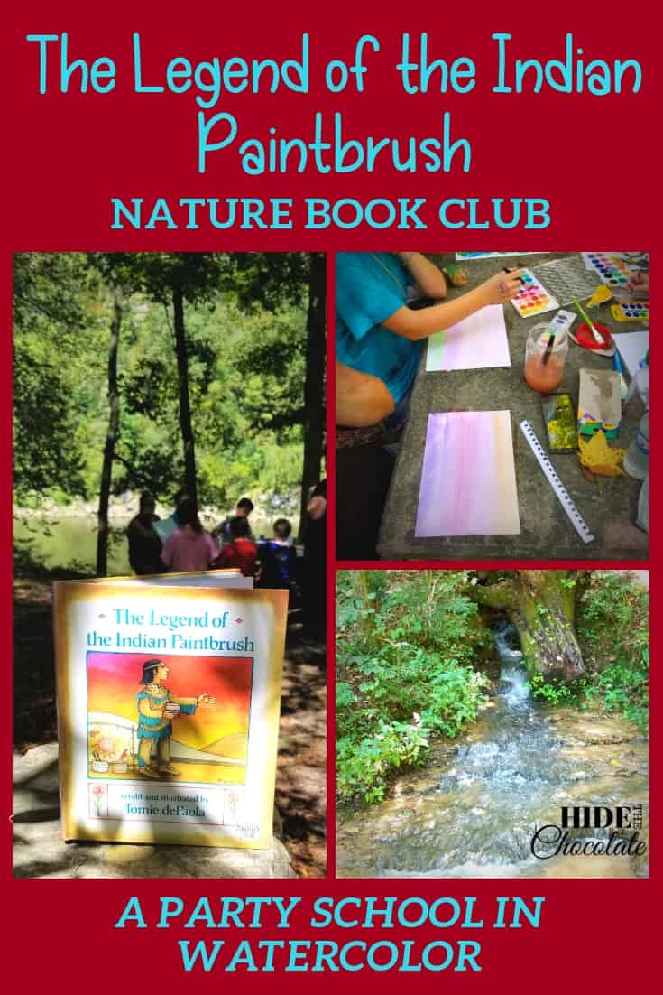The Legend of the Indian Paintbrush Nature Book Club