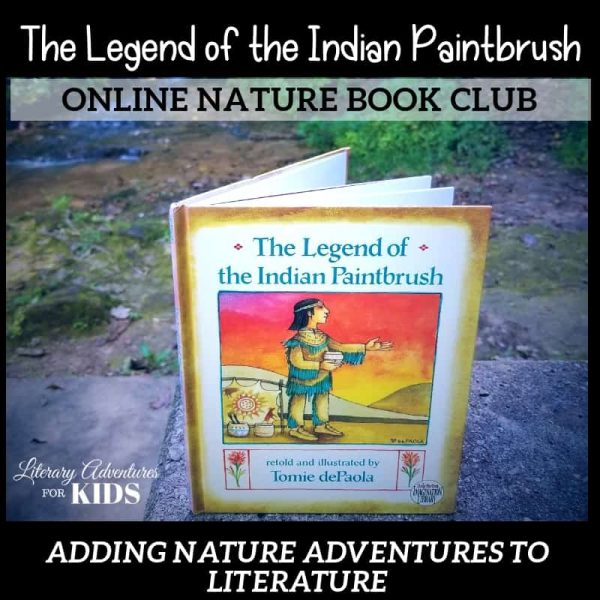 The Legend of the Indian Paintbrush Online Nature Book Club