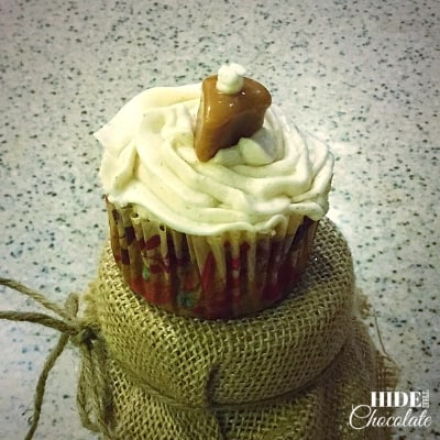 Easy Pumpkin Spice Cupcakes Finished