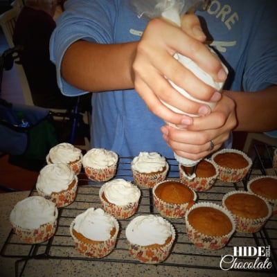 Easy Pumpkin Spice Cupcakes Frosting