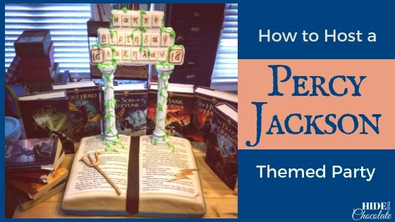 How to Host a Percy Jackson Themed Party Featured