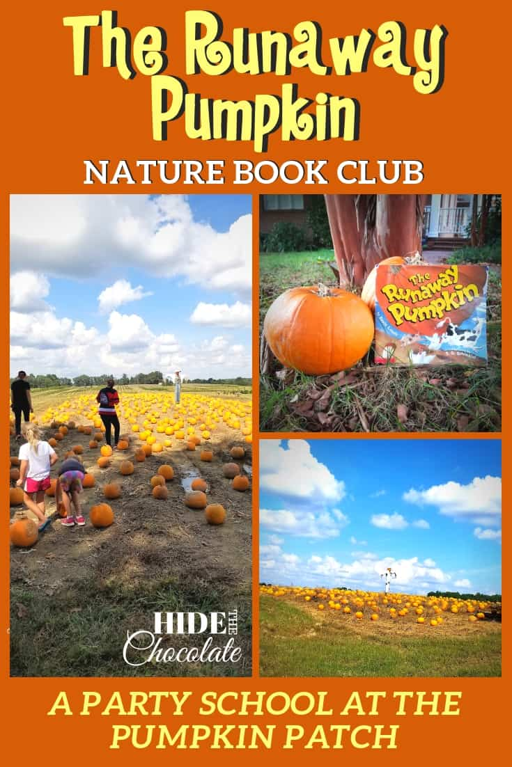 The Runaway Pumpkin Book Club Pinterest