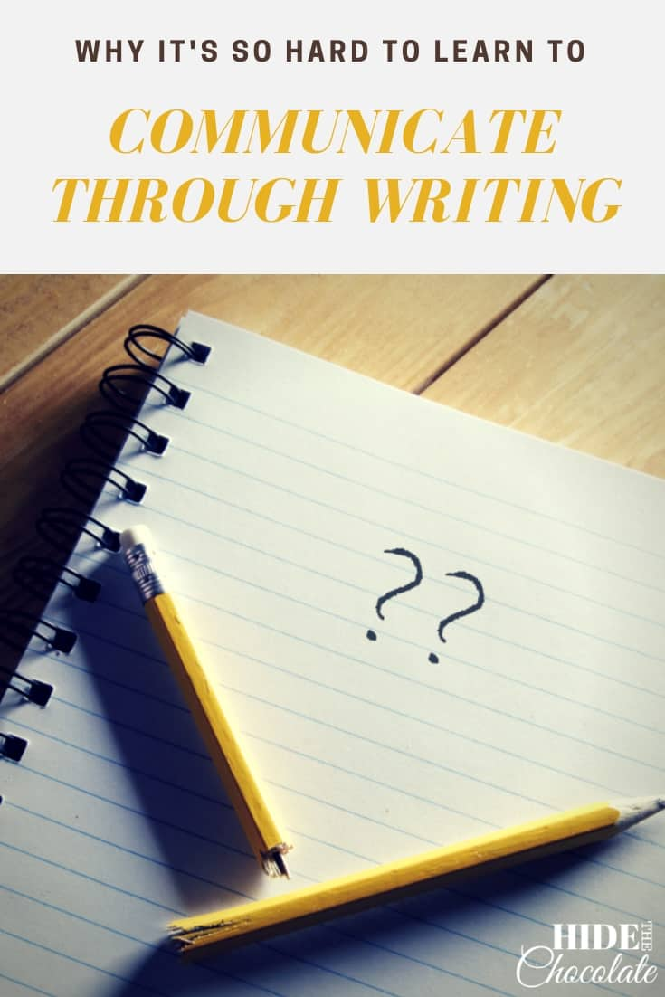 Discover why it\'s so hard to teach our kids to communicate through writing and some simple ways to help them express themselves.  #homeschool #bravewriterlifestyle