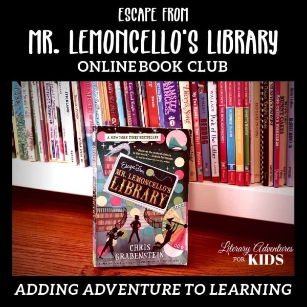 Escape from Mr. Lemoncello's Library Online Book Club