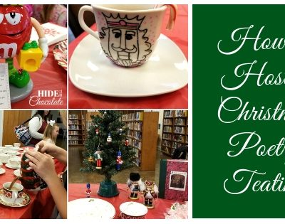 How to Host a Christmas Poetry Teatime with a Keen Observation Writing Activity
