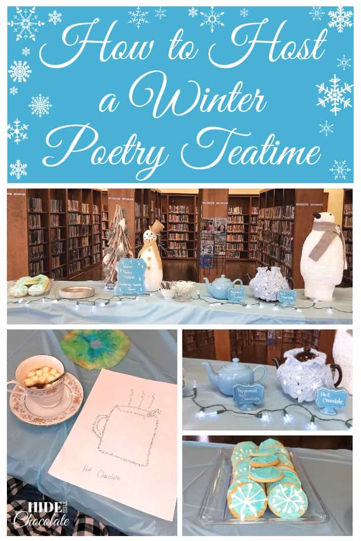 How to Host a Winter Poetry Teatime