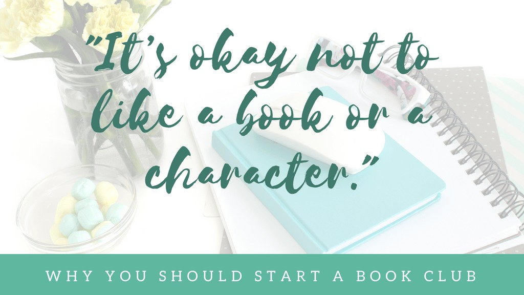 It's okay not to like a book or character
