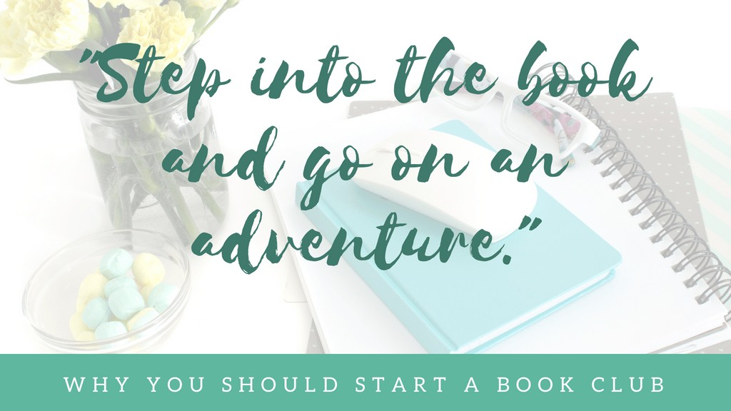 Step Into a Book and Go on an Adventure