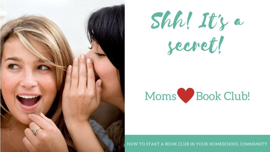 Moms Love Book Clubs