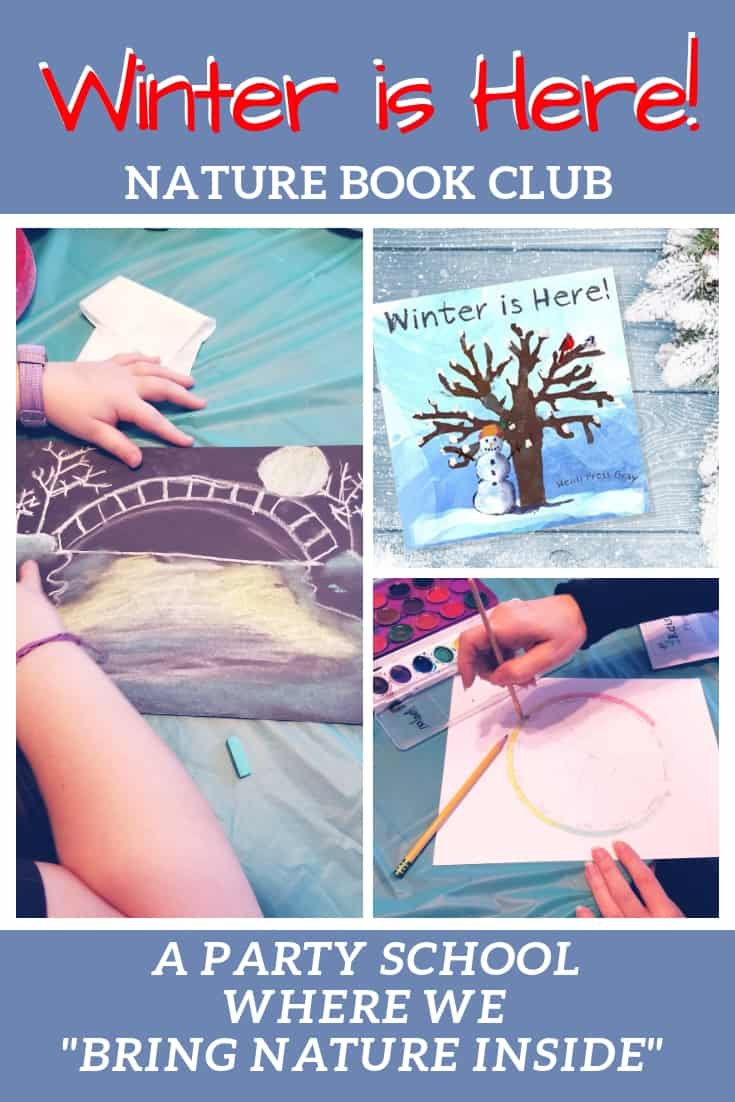 Winter is Here Nature Book Club PIN
