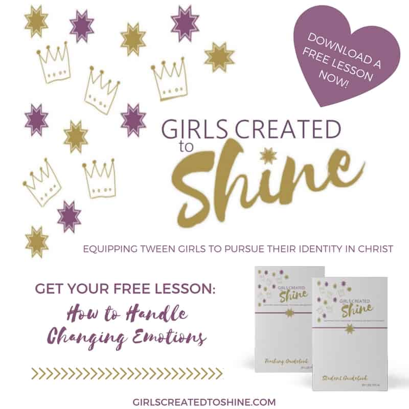 Girls Created to Shine Resources