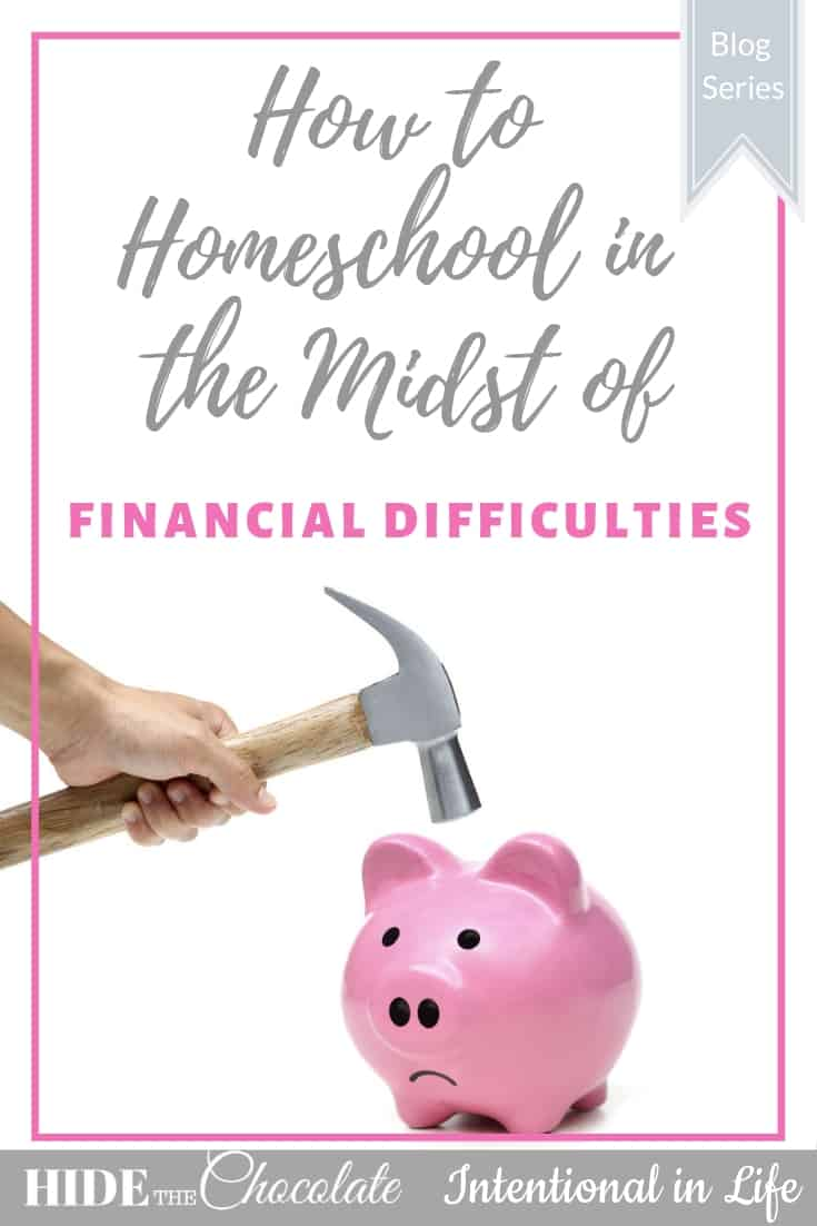 How to Homeschool in the Midst of Financial Difficulties PIN