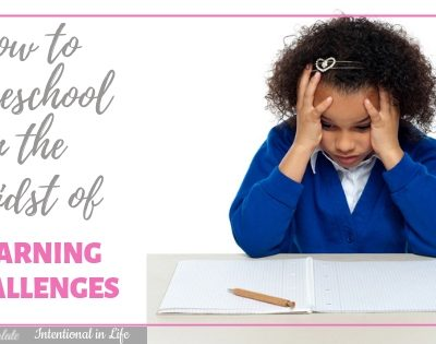 How to Homeschool in the Midst of Learning Challenges Featured
