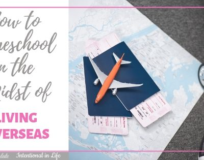How to Homeschool in the Midst of Living Overseas ~ An Interview
