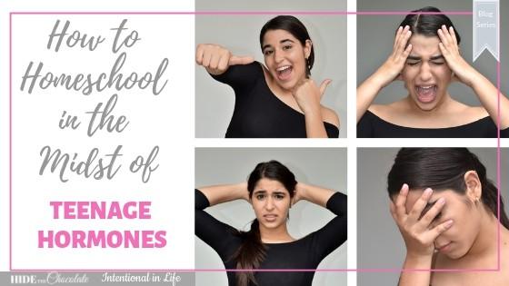 How to Homeschool in the Midst of Teenage Hormones Featured