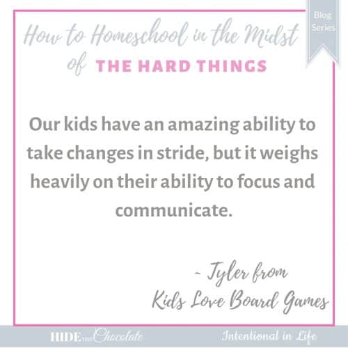 How to Homeschool in the Midst of a Relocation - Quote