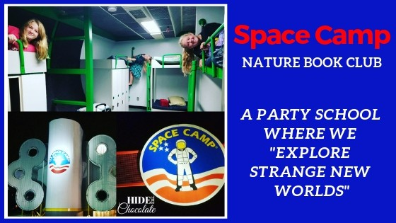 Space Camp Nature Book Club Featured