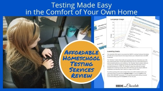 Testing Made Easy in the Comfort of Your Own Home - Affordable Homeschool Testing Services Review Featured