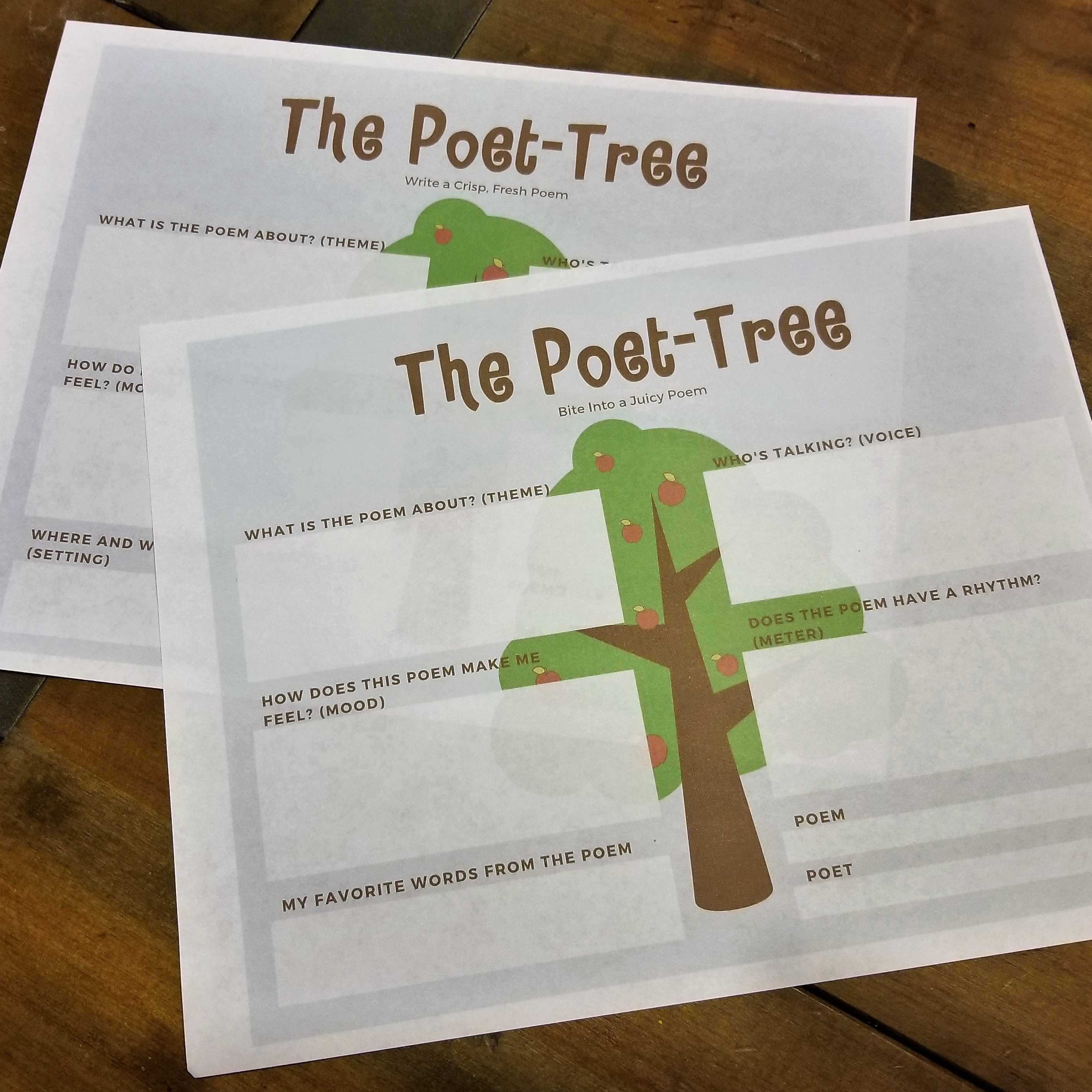 The Poet Tree Color