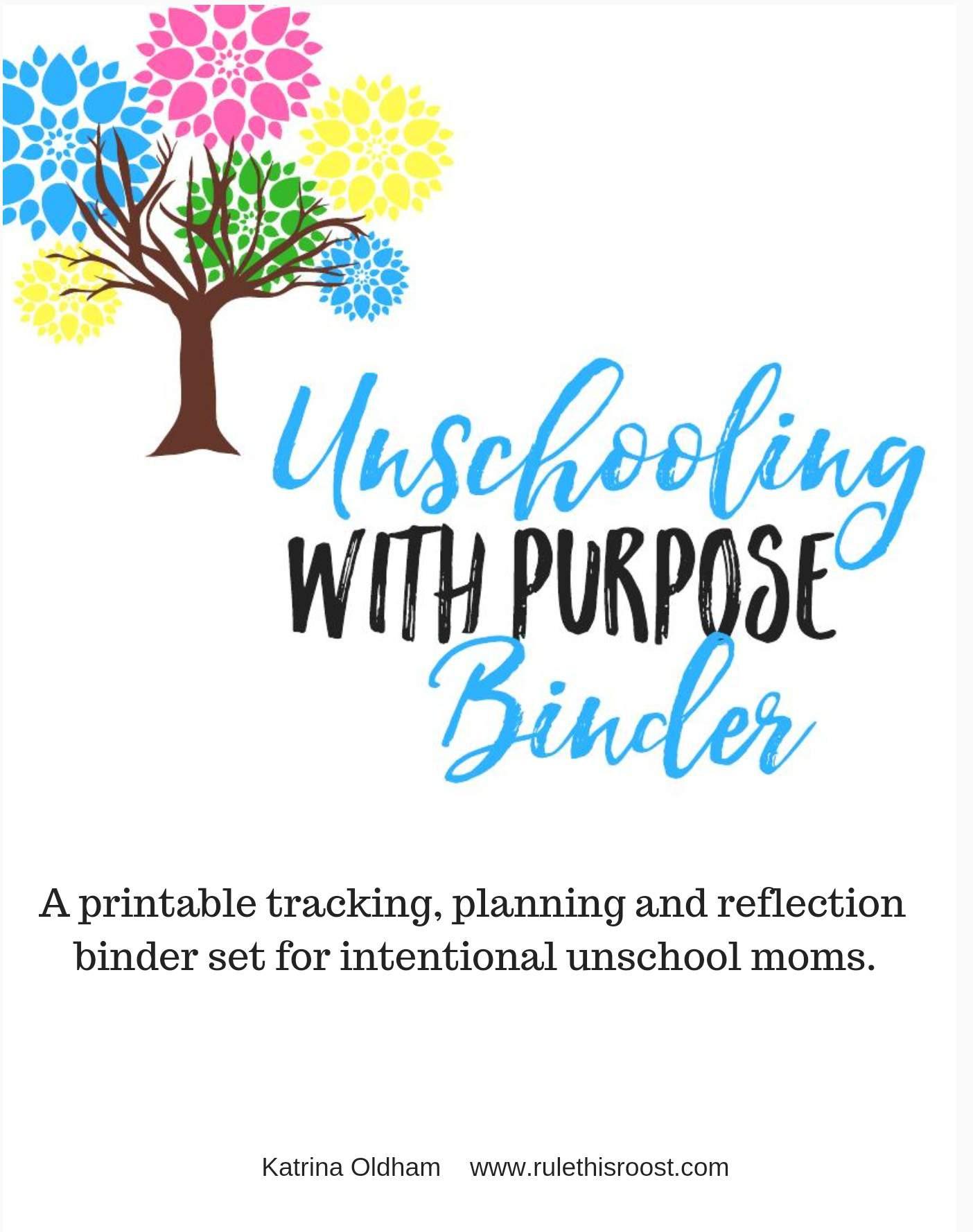 Unschooling Binder