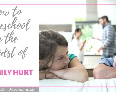 How to Homeschool in the Midst of Family Hurt