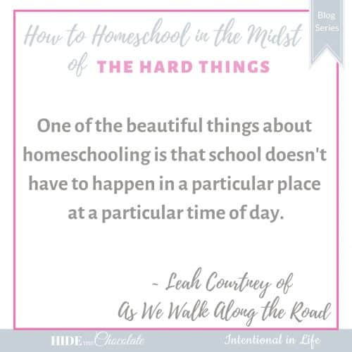 How to Homeschool in the Midst of Having a New Baby Quote