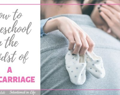 How to Homeschool in the Midst of a Miscarriage ~ An Interview