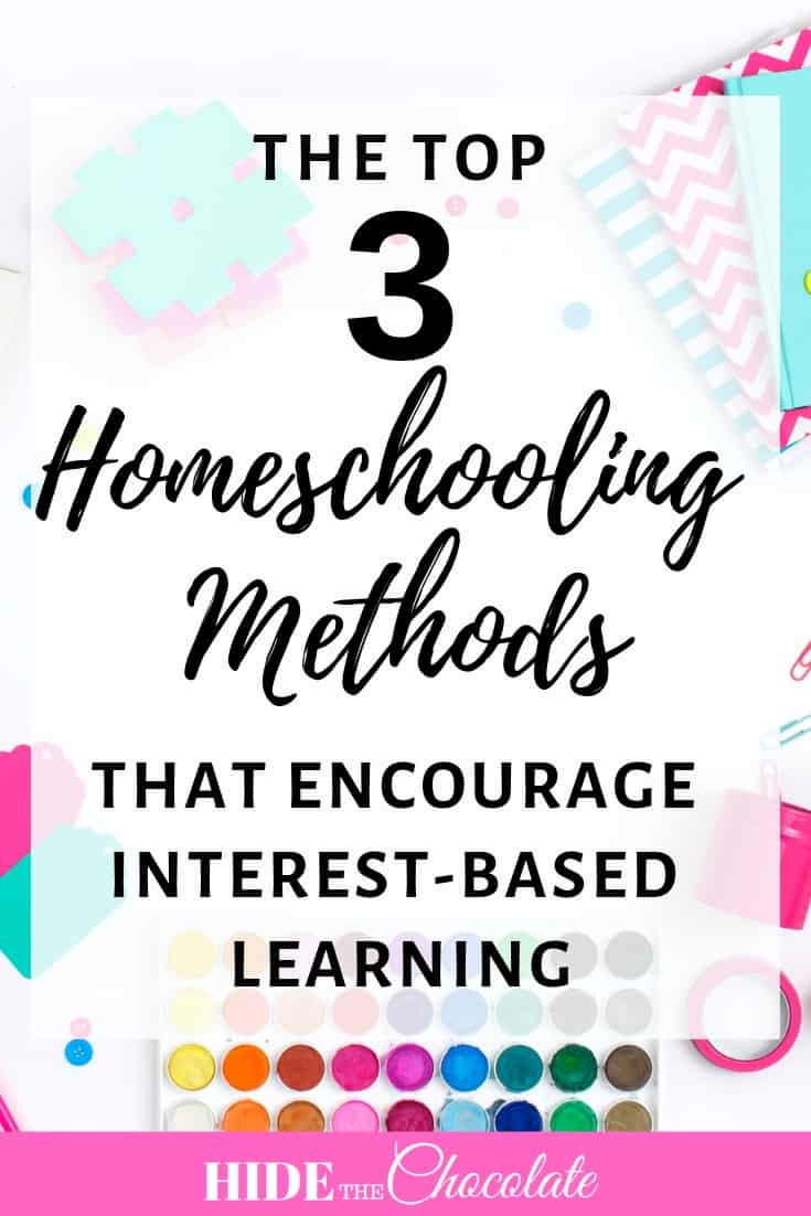 My guest contributor today, Rebbecca from How Do I Homeschool, discusses three homeschool methods that promote interest-based learning in the home: the Montessori method, Waldorf method, and Unschooling.
