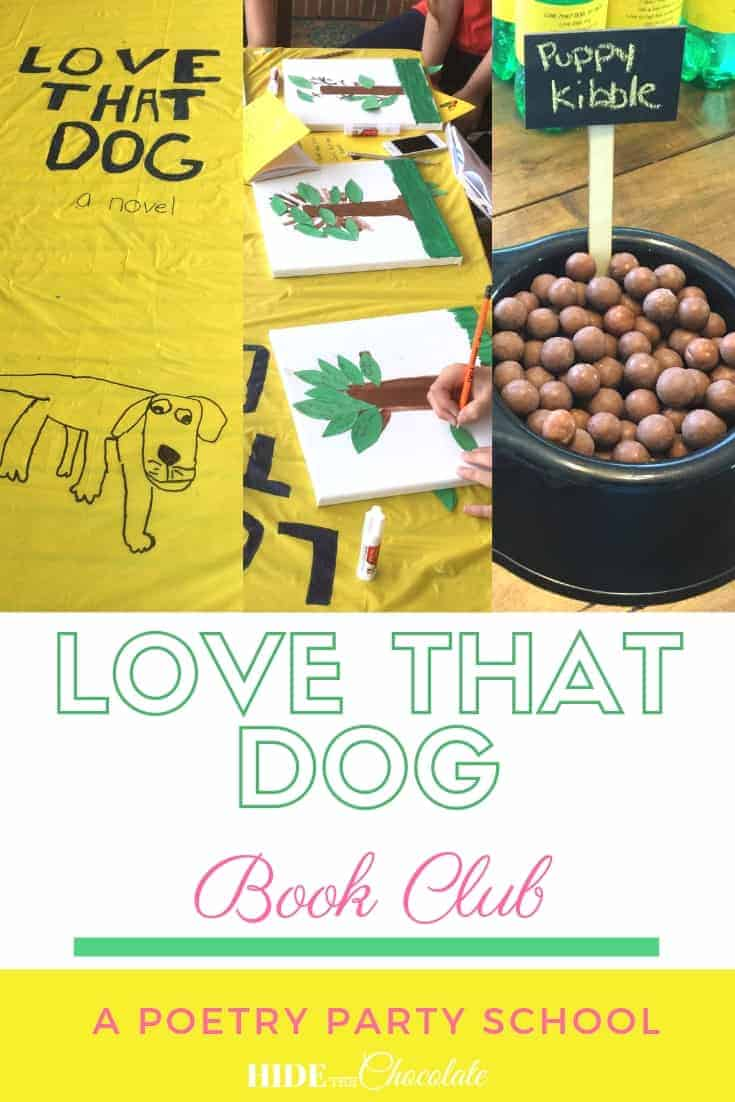Love That Dog Book Club PIN