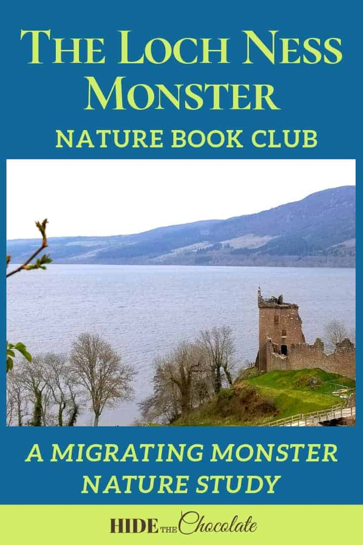 The Loch Ness Monster Nature Book Club PIN