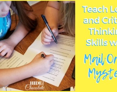 Teach Logic and Critical Thinking Skills with Mail Order Mystery Featured