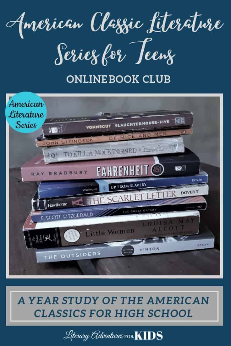 American Classic Literature Series for Teens- 9th grade homeschool curriculum