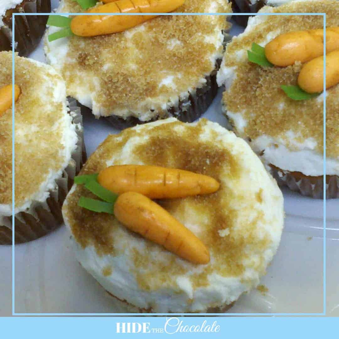 The Tale of Peter Nature Book Club - Carrot Cupcakes