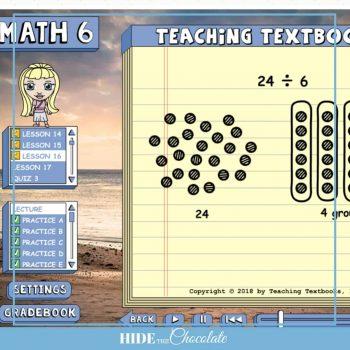 Teaching Textbooks 3.0 – Lessons