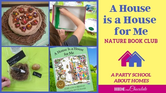 A House is a House For Me Nature Book Club Featured