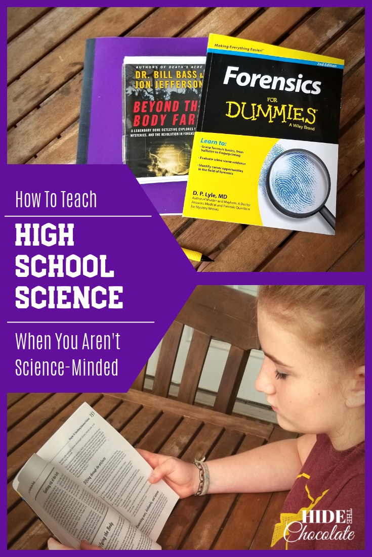 How to Teach High School Science When You Aren't Science-Minded PIN