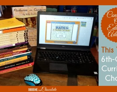 Continuing Our Education Adventure: This Year's 6th-Grade Homeschool Curriculum Choices