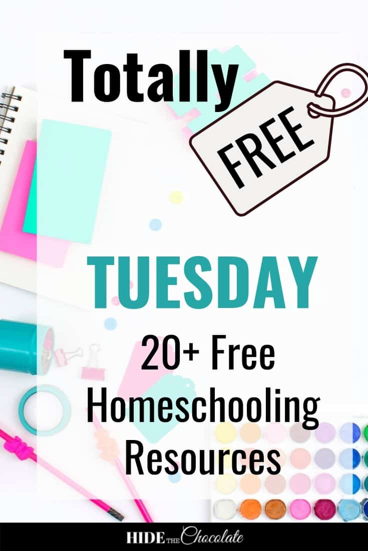 Each month on the first Tuesday, we\'re going to round up some of the best free resources in homeschooling. These are created by homeschoolers who love to share with others in the community. So, get ready for some fabulous printables and ideas this month!